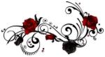 tribal rose vine