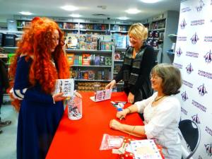 Jane with Robin Hobb at her recent FP signing