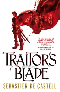 traitors blade cover