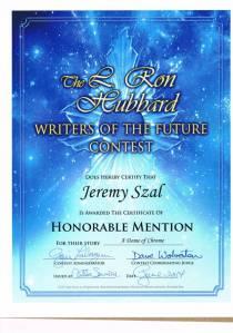 jeremy award